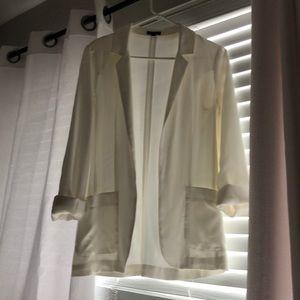 Never worn - white blazer
